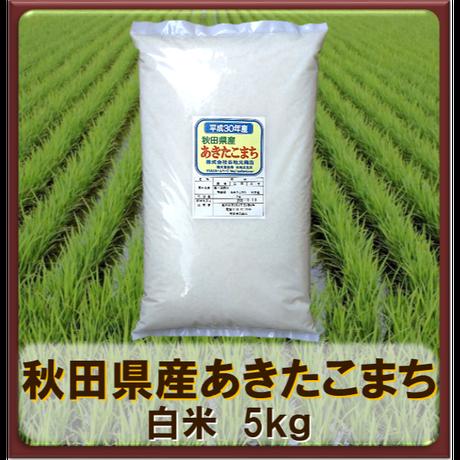 平成30年 秋田県産 あきたこまち  白米 5kg