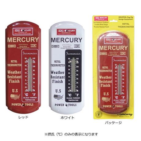 マーキュリー  サーモメーター ロング   MERCURY 温度計