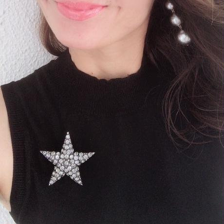 BIG Star Brooch ブローチ