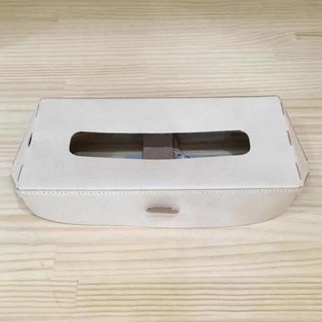 Hender Scheme / TISSUE BOX CASE (NATURAL)