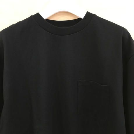 Graphpaper / GU192 70055 / S/S Pocket Tee (BLACK)