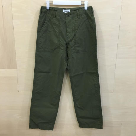 YAECA / 79604 / LIKE WEAR ベーカーパンツ (OLIVE) (BLOCKS)