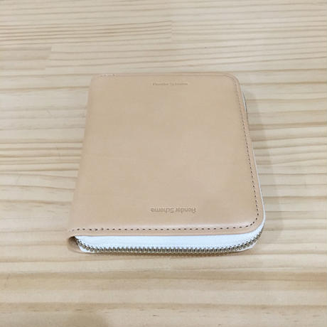 Hender Scheme / SQUARE ZIP PURSE (NATURAL)