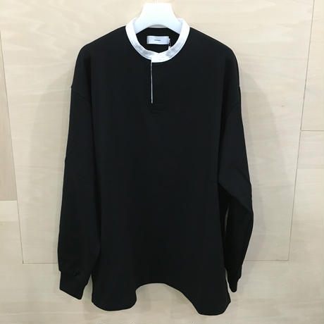 Graphpaper / GU193 70027 / Heavy Weight Rugger L/S Tee (BLACK)