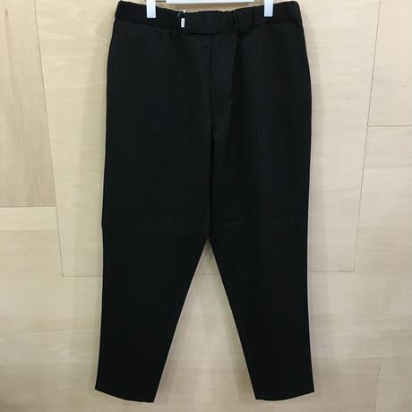 Graphpaper / GM19340118B / Selvage Wool Cook Pants (BLACK)