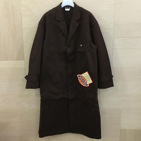 Fresh Service / FSW 19 CT01 / Dickies Shop Coat (BROWN)