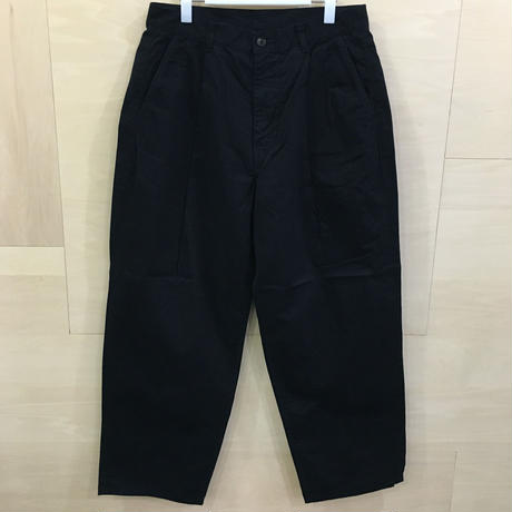 Graphpaper / GU193 40063B / Military Cloth 2 Tuck Pants (NAVY)