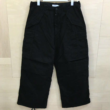 Graphpaper / GU193 40125B / Military Cloth Military Pants (BLACK)