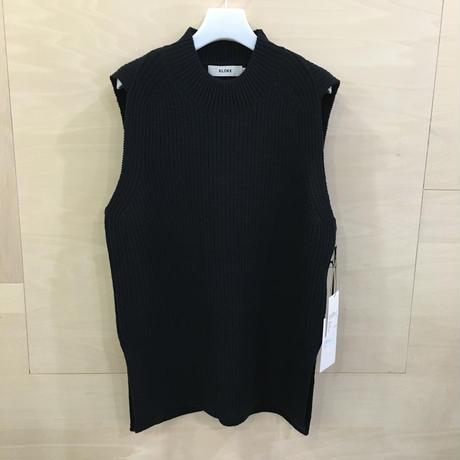 KLOKE / KLW 3110 / Contour Knit Vest (INK)