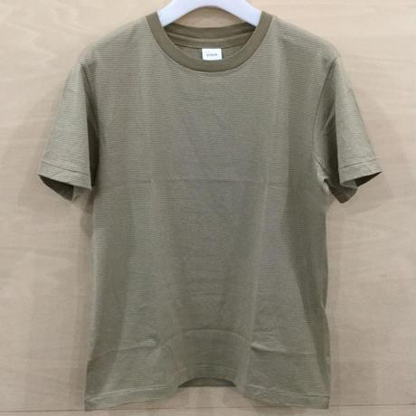 YAECA / 81035 / シルクタッチ Tシャツ (KHAKI ST)