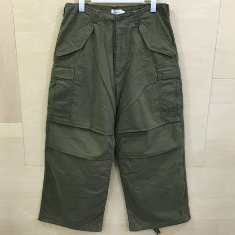 Graphpaper / GU193 40125B / Military Cloth Military Pants (KHAKI)