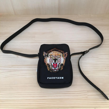 FACETASM / PIPPIA BAG U03 / LION SHOULDER BAG (BLACK)