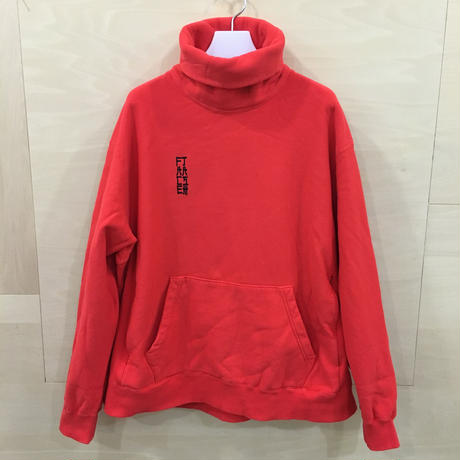 FACETASM / MRC SW U05 / HIGH NECK SWEAT SHIRT (RED)