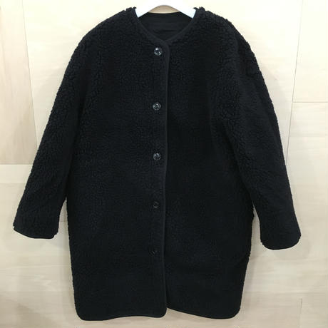 LENO & CO / L1902 CO001 / Reversible Military Coat (BLACK)