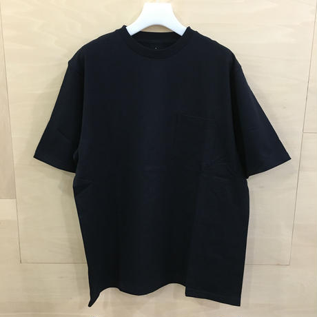 Graphpaper / GU192 70055 / S/S Pocket Tee (NAVY)