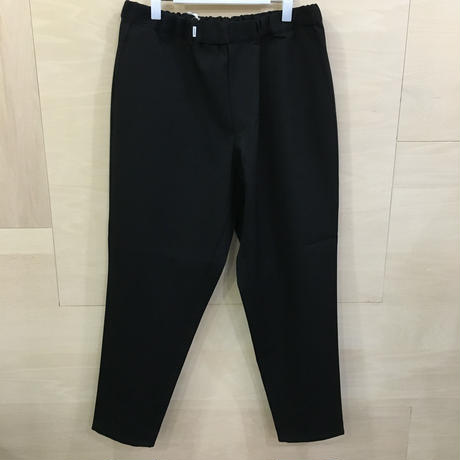 Graphpaper / GM193 40118B / Selvage Wool Cook Pants (BLACK ST)