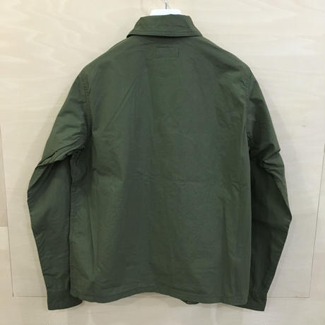 YAECA / 79102 / LIKE WEAR ベーカーシャツ (OLIVE) (BLOCKS)