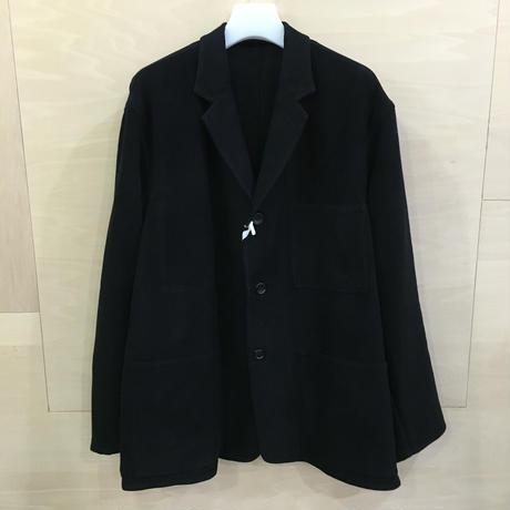 Graphpaper / GM193 20028 / Moleskin French Work Jacket (BLACK)