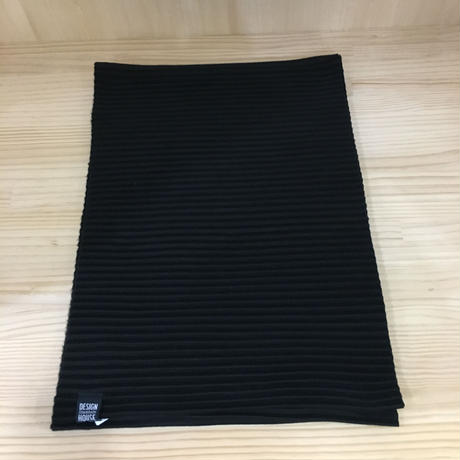 DESIGN HOUSE / PLEECE LONG  SCARF (BLACK)
