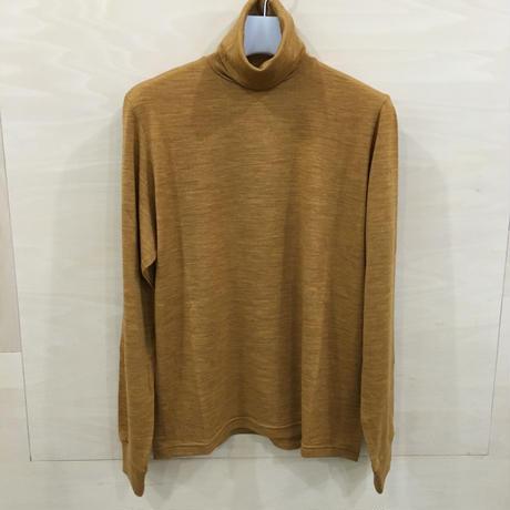 Graphpaper / GU193 70071B / Washable Wool High Neck TEE (LEEF)