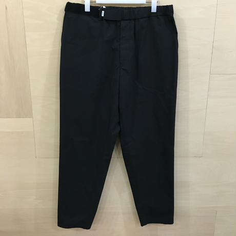 Graphpaper / GM192 40530 / Stretch Typewriter Cook Pants (BLACK)