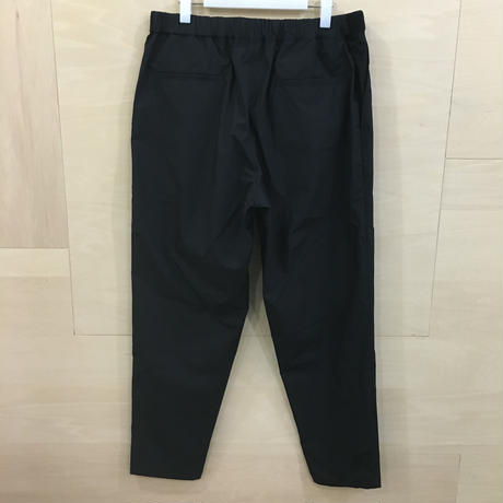 Graphpaper / GM191 40020B / Typewriter Cook Pants (BLACK)