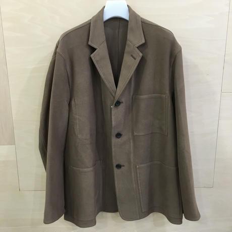 Graphpaper / GM 193 20028 / Moleskin French Work Jacket (BROWN)
