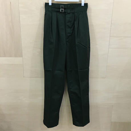 LENO & CO / L1902 PT002 / Double Belted Gurkha Trousers (KHAKI)