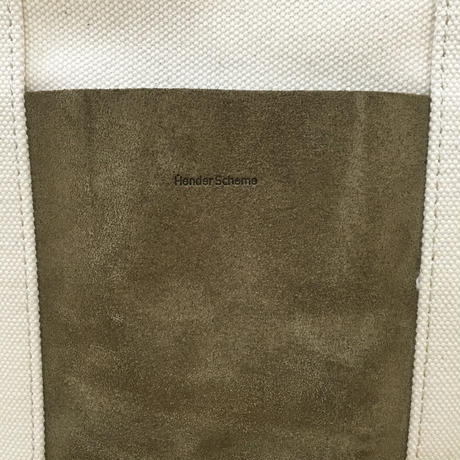 Hender Scheme / CAMPUS BAG SMALL (BEIGE)