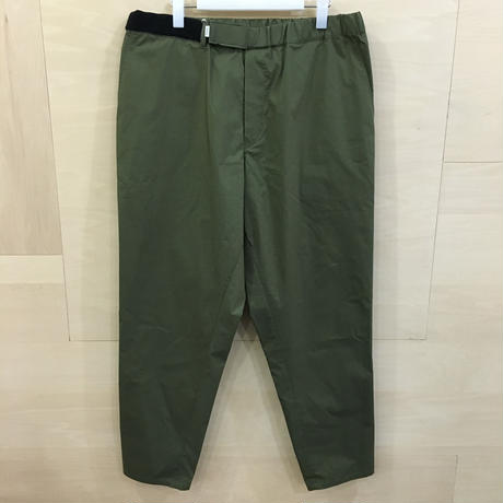 Graphpaper / GM192 40530 / Stretch Typewriter Cook Pants (KHAKI)