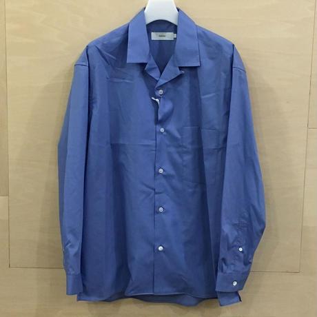 Graphpaper / GU192 50524C / Broad Open Collar Shirt (BLUE) casa gucca 別注
