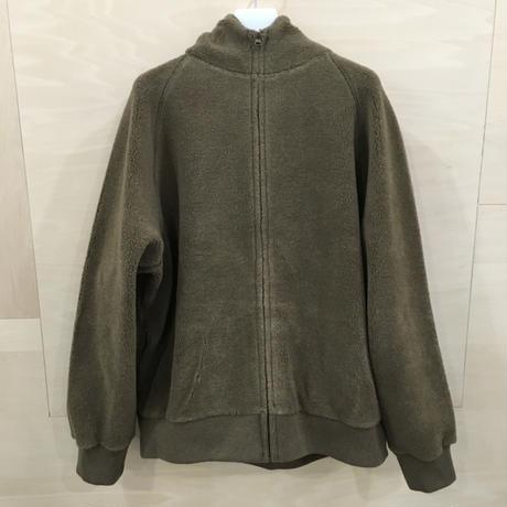 Graphpaper / GU193 70040 / Wool Boa Zip Parka (KHAKI)