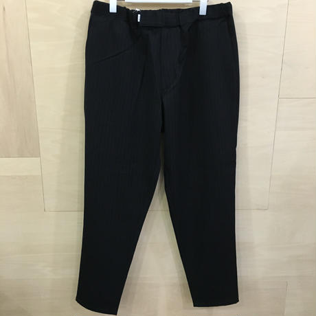 Graphpaper / GM193 40118B / Selvage Wool Cook Pants (NAVY)