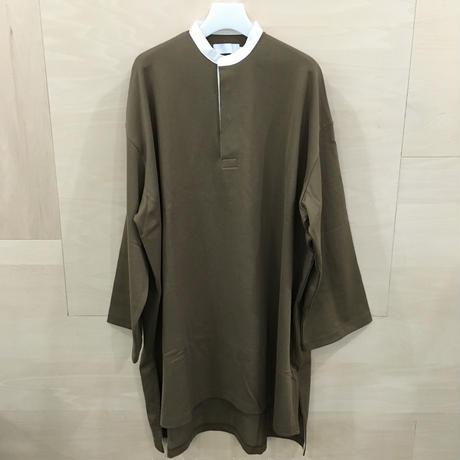Graphpaper / GL193 70026 / Heavy Weight Rugger Dress (KHAKI)