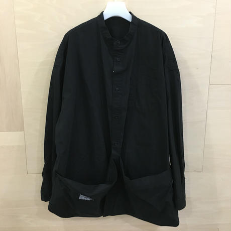 Fresh Service / FSW 19 SH 03 / Tool Pocket Utility Shirt (BLACK)