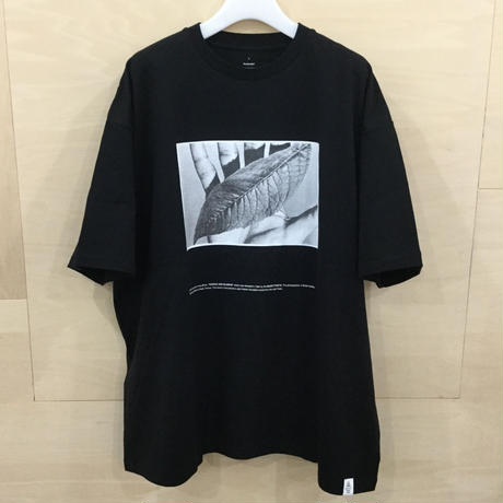 Graphpaper / GU211 70180 / POET MEETS DUBWISE for GP Oversized Tee (BLACK)