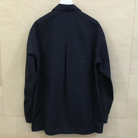 Graphpaper / GU192 50524C / Broad Open Collar Shirt (NAVY) casa gucca 別注