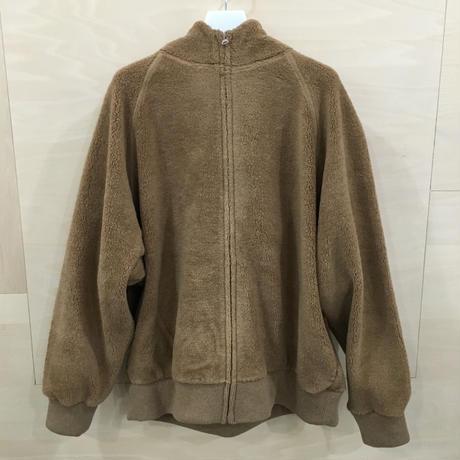 Graphpaper / GU193 70040 / Wool Boa Zip Parka (BEIGE)