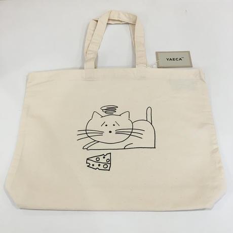 YAECA / 38951 プリントバッグ CAT (NATURAL)