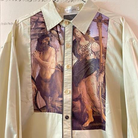 ケンタウロスと痴女のシャツ