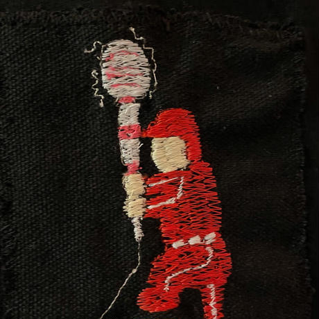 DH(DENMA HITTER)刺繍ビッグシルエットTee
