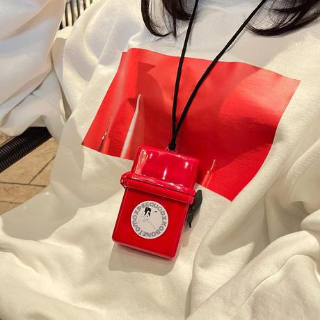 放尿少女シガレットケース (red)