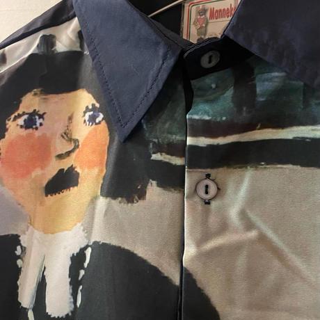 虚無おしりぺんぺん長袖シャツ