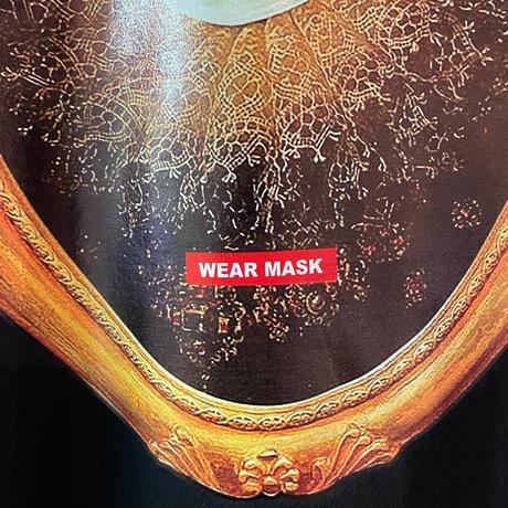 wear  mask tee