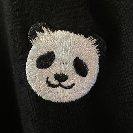 パンダさん刺繍ロンT