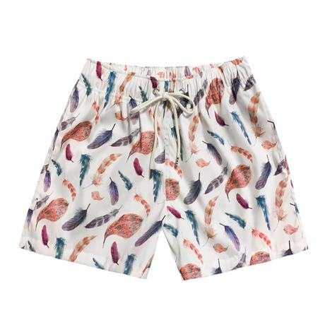 feather shorts