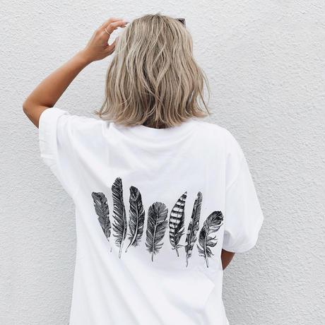 feather tshirts