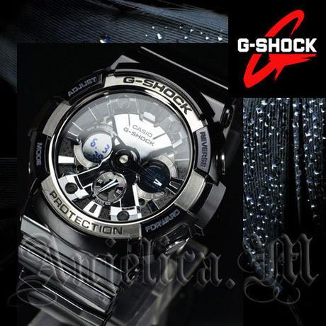 ★逆輸入モデル★Casio G-Shock Magnetic Resistant GA200BW-1A