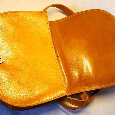 イタリア製 可愛い革ショルダーバッグ!