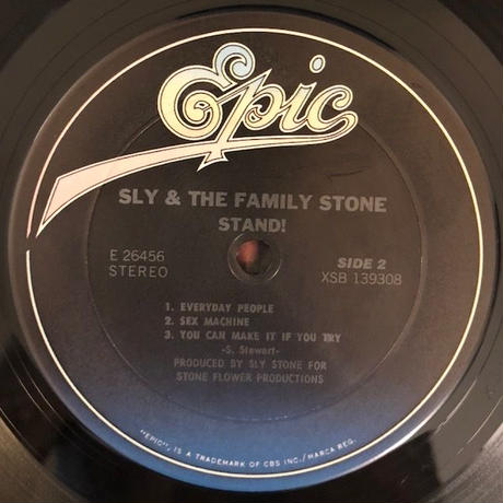 Stand!  /  Sly And The Family Stone   (LP)